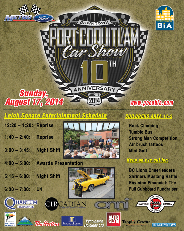 When Is Port Coquitlam Car Show