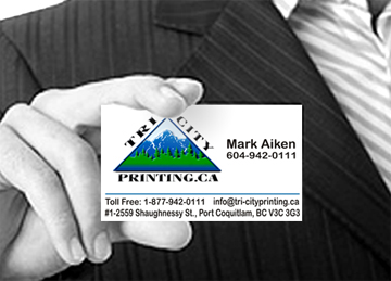 TriCity printing Business Card
