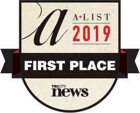 A-list 2019 first place in printing Port Coquitlam