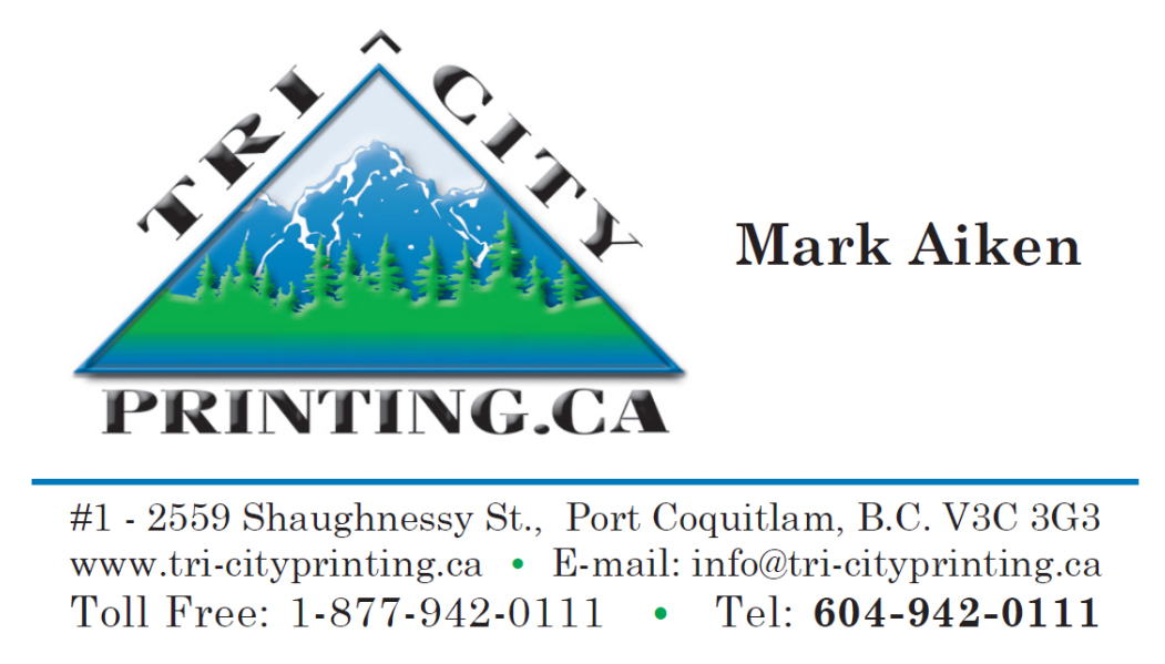 Tri-City Printing Business card