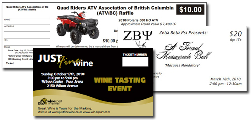 Print shop in Maple Ridge - TriCity Printing - tickets