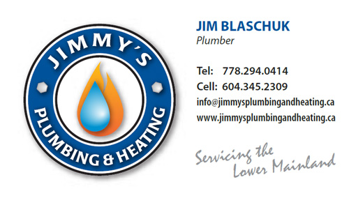 Jimmy's Plumbing and Heating, White Rock