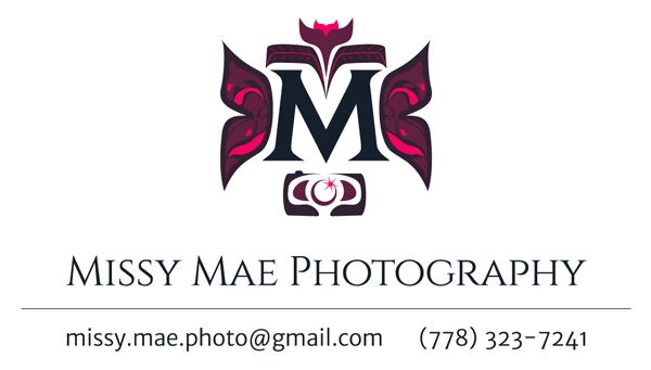 Missy Mae Photography business card