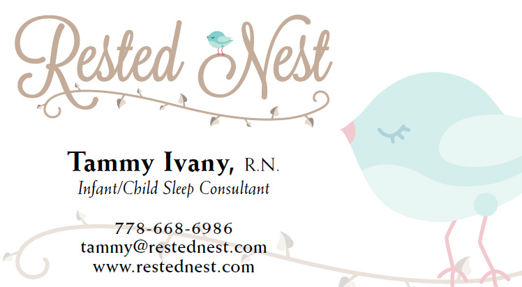 Rested Nest - business card