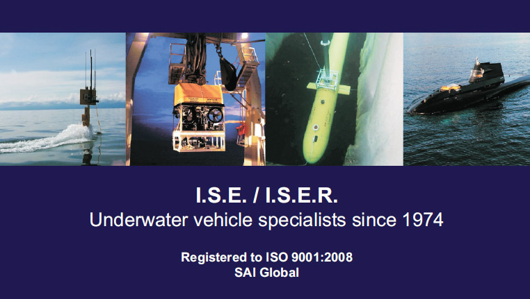 International Sub Engineering business card front